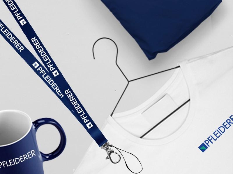 Materiały z logo firmy