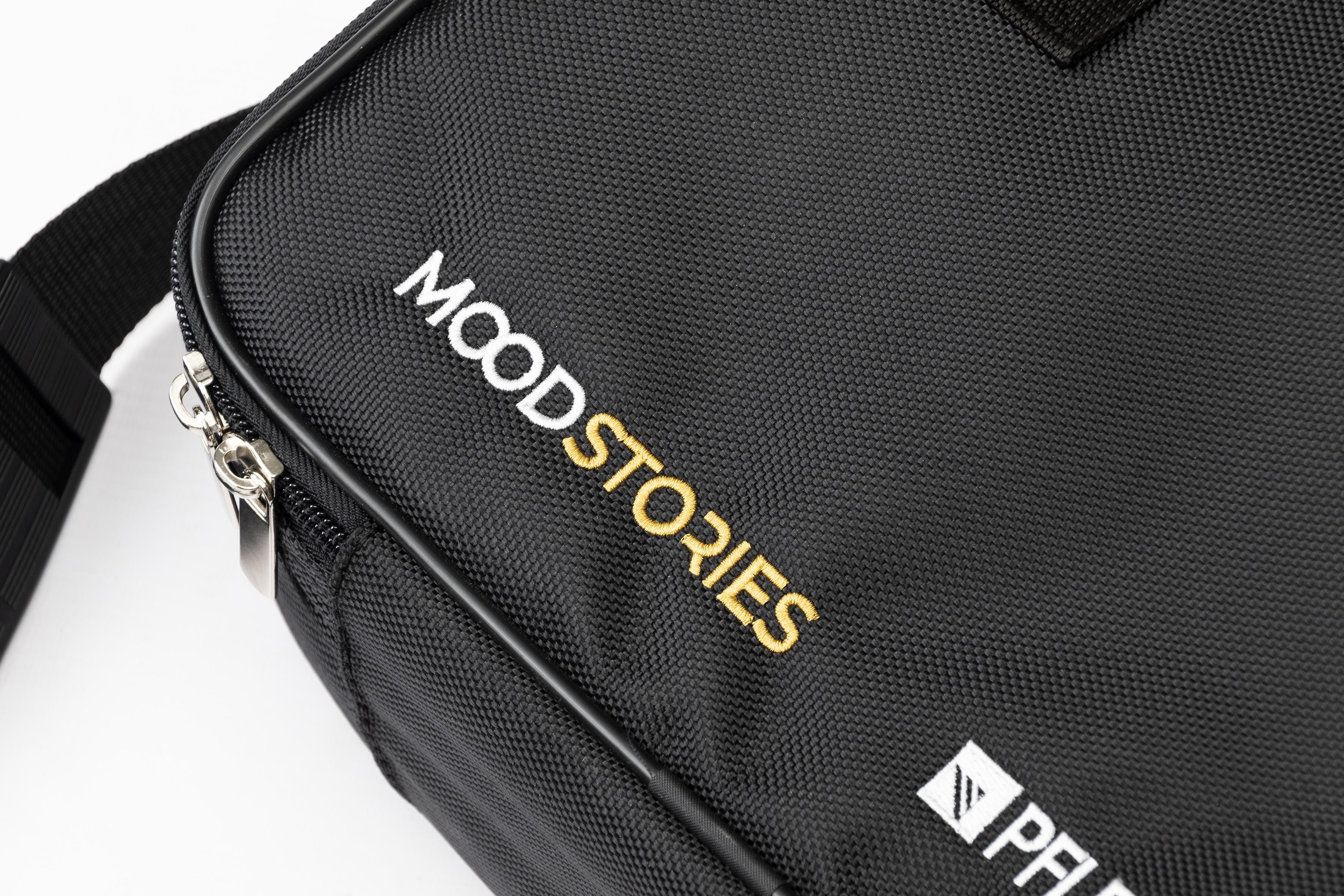 Torba na wzorniki listkowe kolekcji Mood Stories Comfort Collection