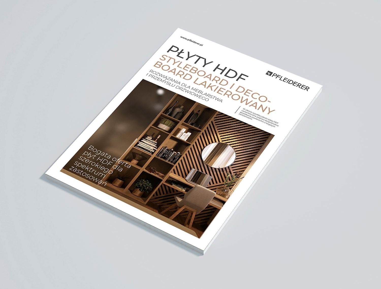 Broszura produktowa 'Płyty HDF'