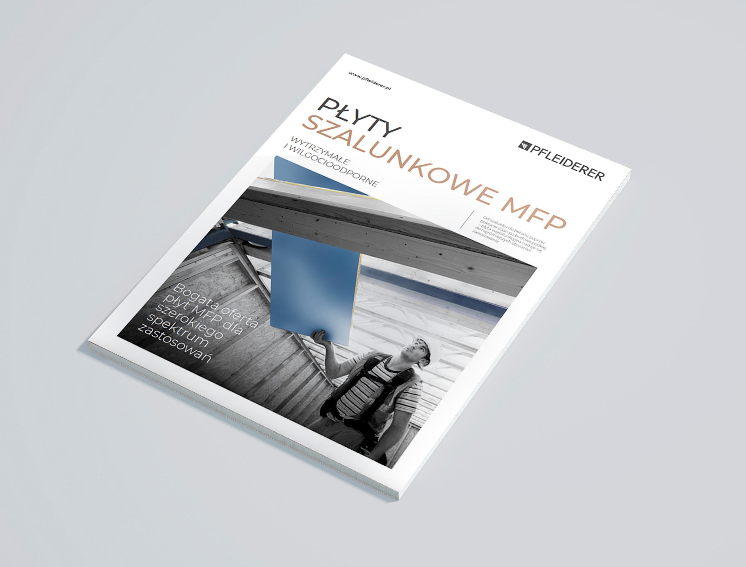 Broszura produktowa 'Płyty szalunkowe MFP'