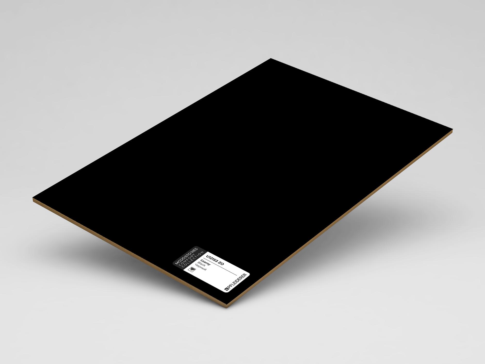 Czarny U12153 ZO